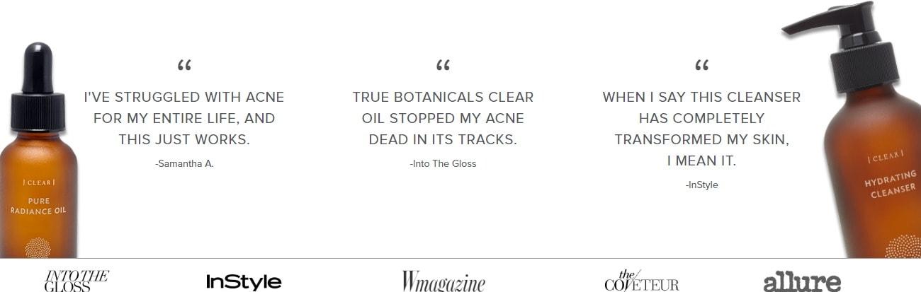 true botanicals deals