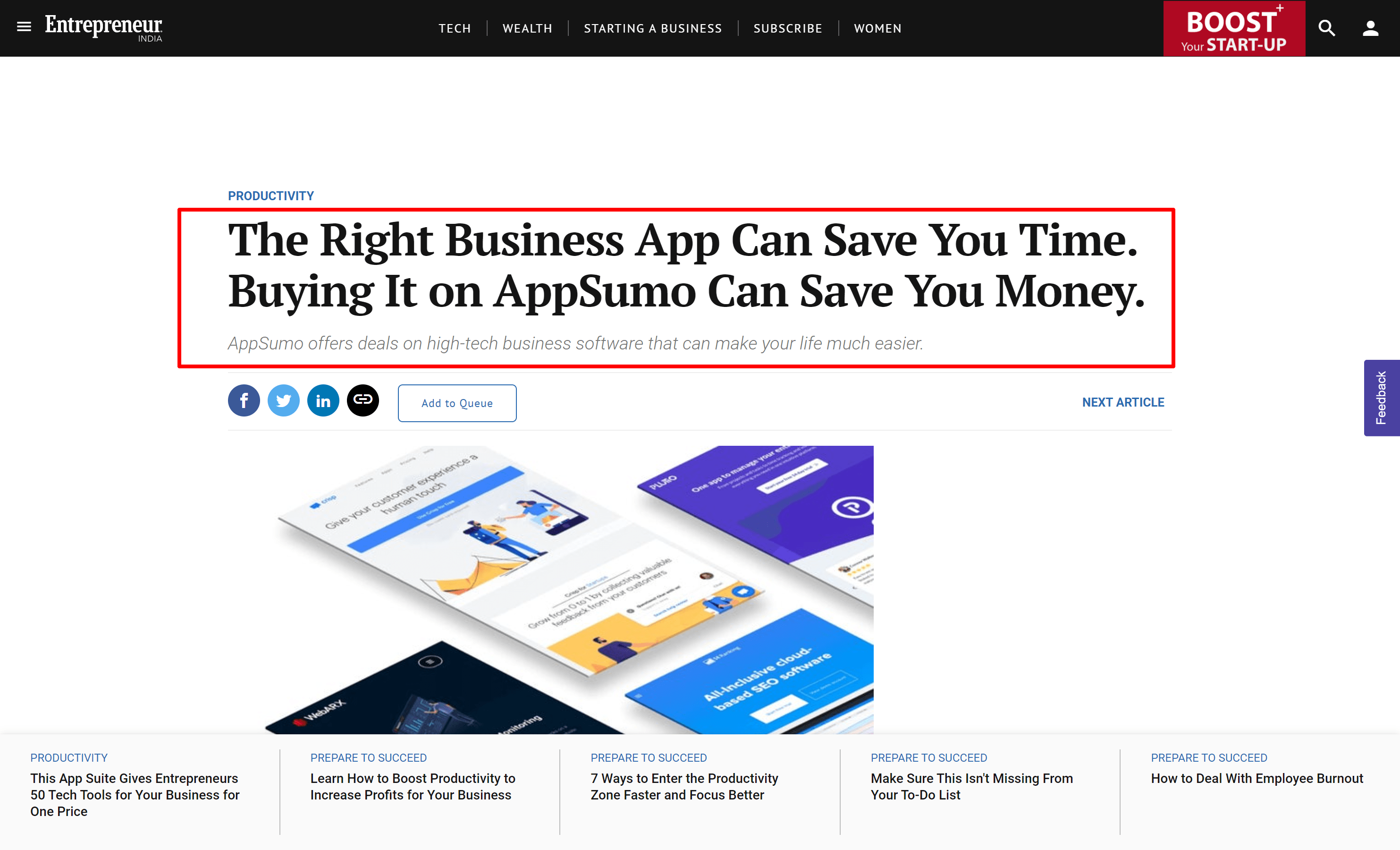 Appsumo mention- appsumo deals and coupons
