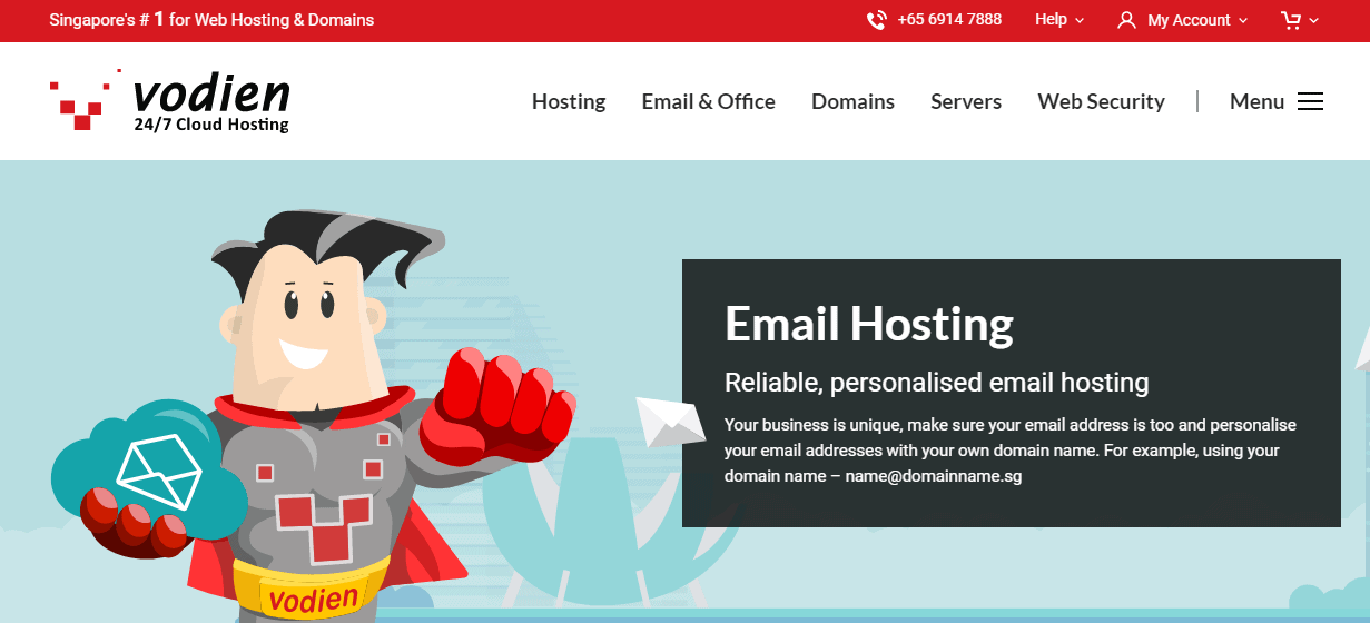 Vodien Coupon Codes- Email Hosting Business