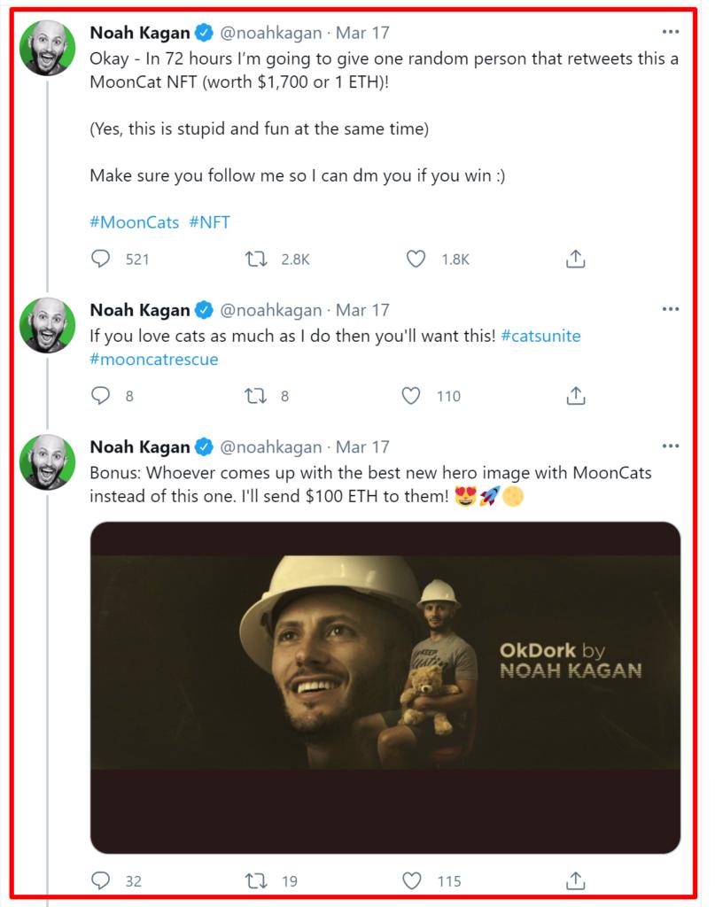 Appsumo coupon codes- Noah Kaga founder of Appsumo tweet
