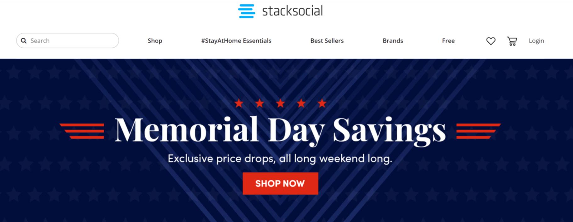 appsumo alternative- nStacksocial marketplace