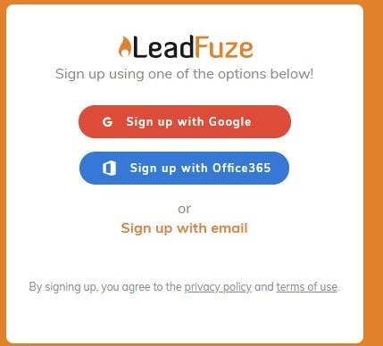 LeadFuze Software Overview