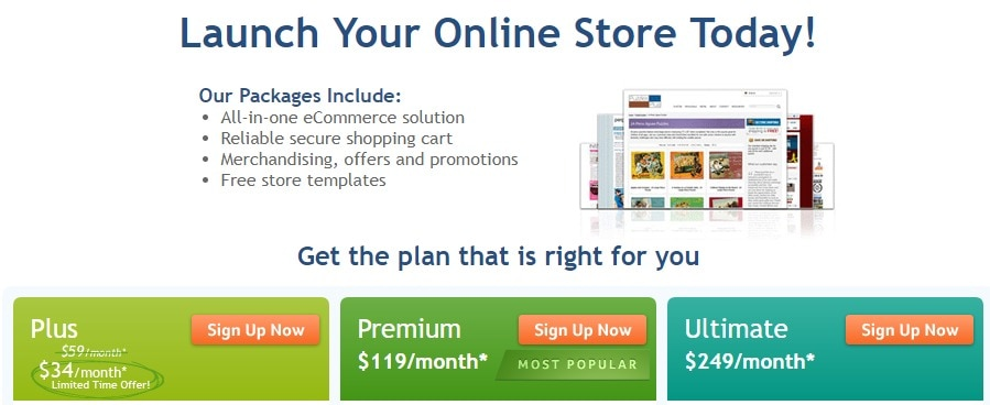 Launch your online shop today