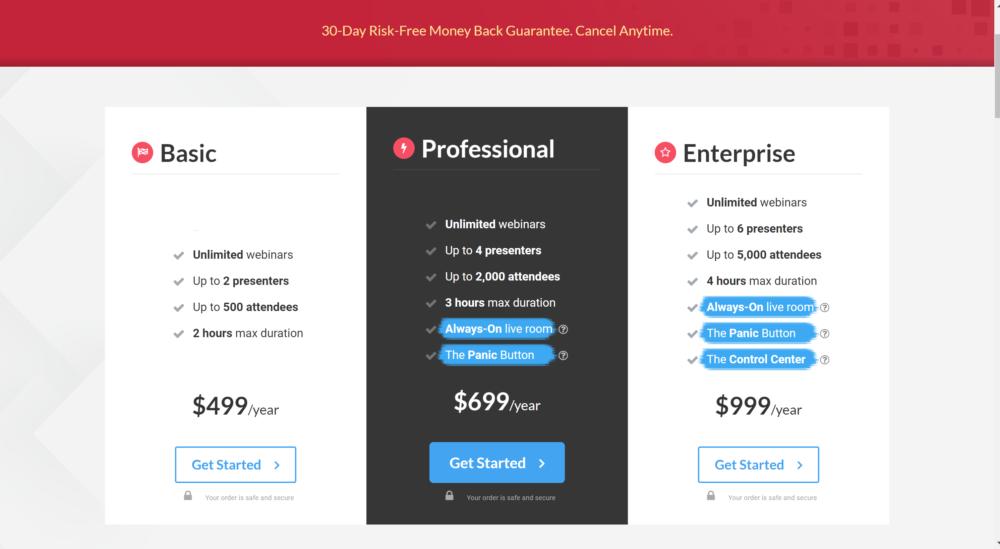 WebinarJam Pricing- WebinarJam discount coupon codes