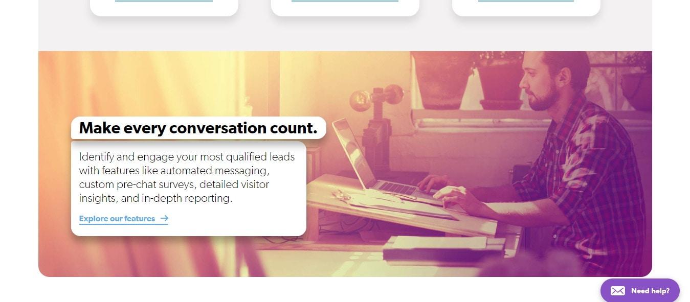 Make conversation count