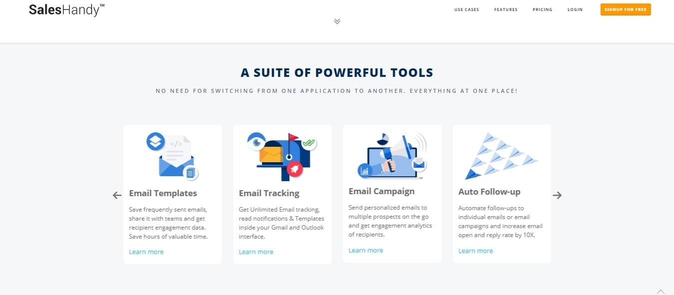 Sales Handy - Suite Of Powerful Tools
