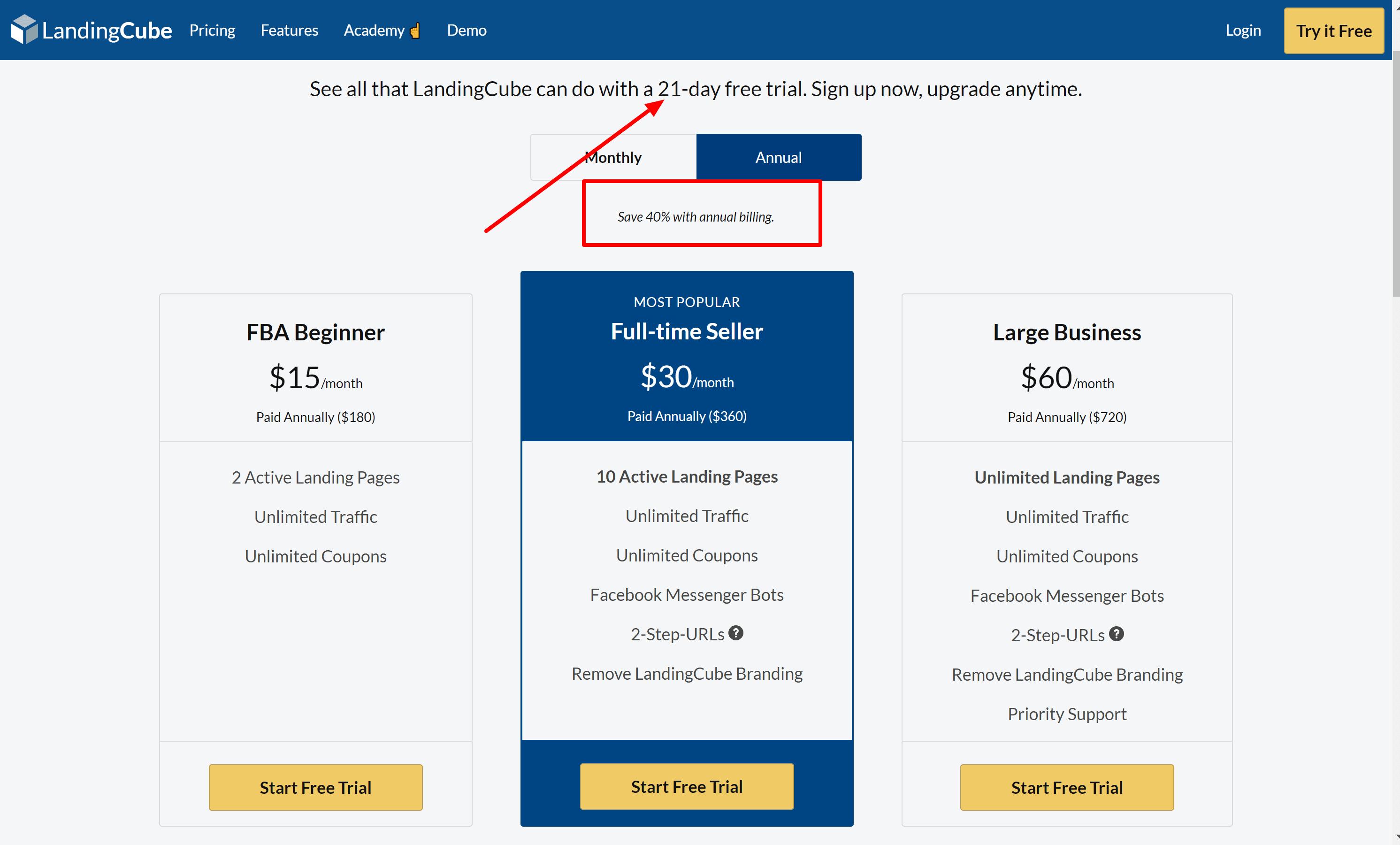 Best buy LandingCube Coupon Codes