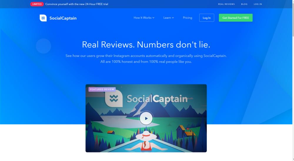 SocialCaptain review- Best Instagram automation tool