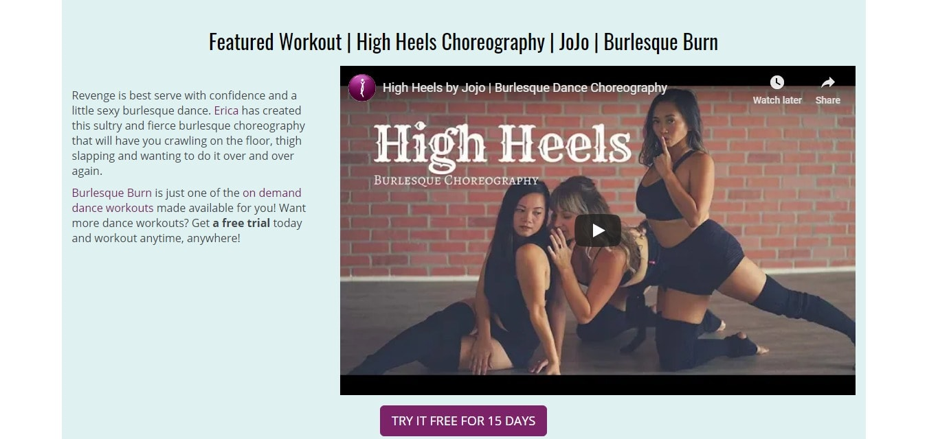 Best high heels choreography - by hip shake