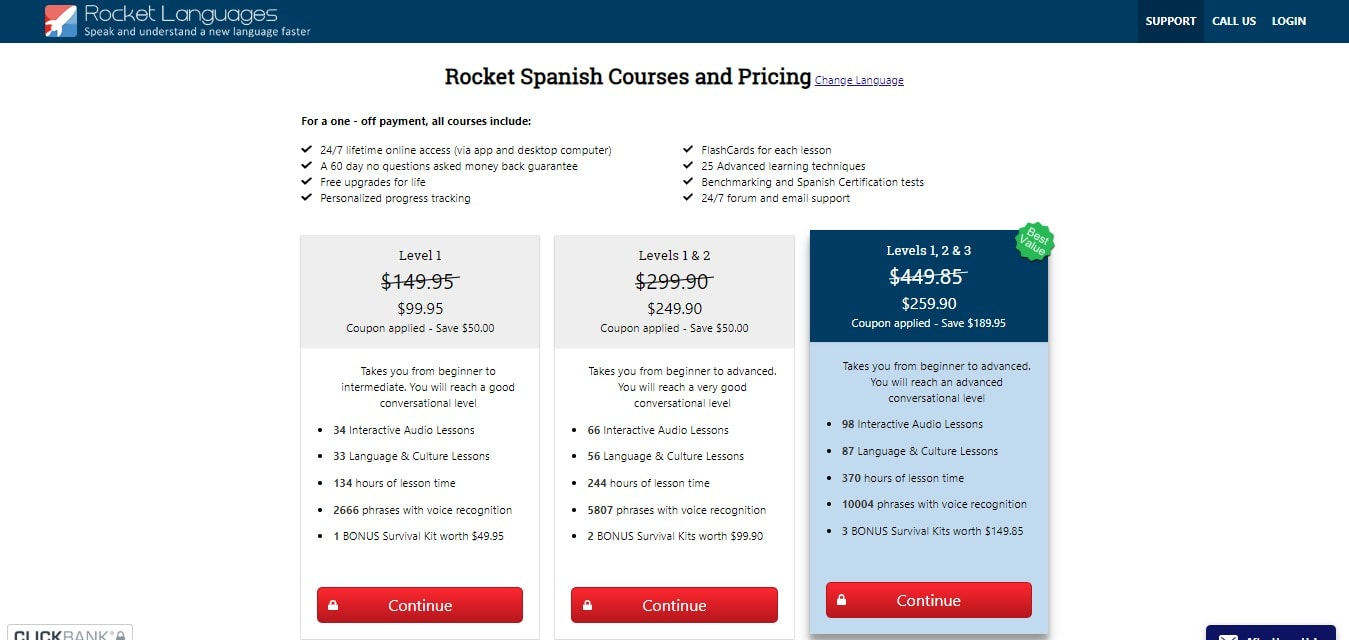 Cost And Packages Offered-price plan