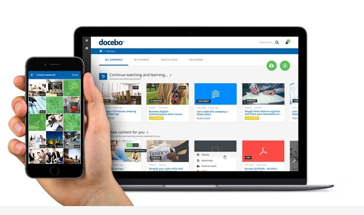 Docebo pricing discount