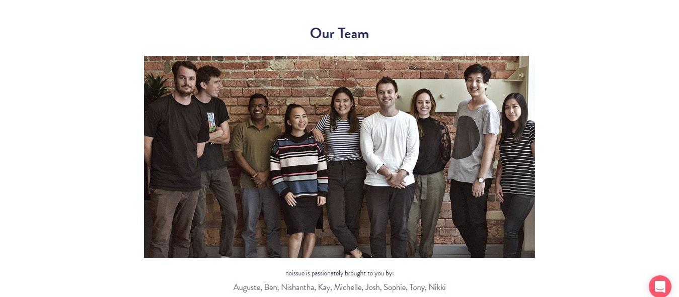 NoIssue Team Members