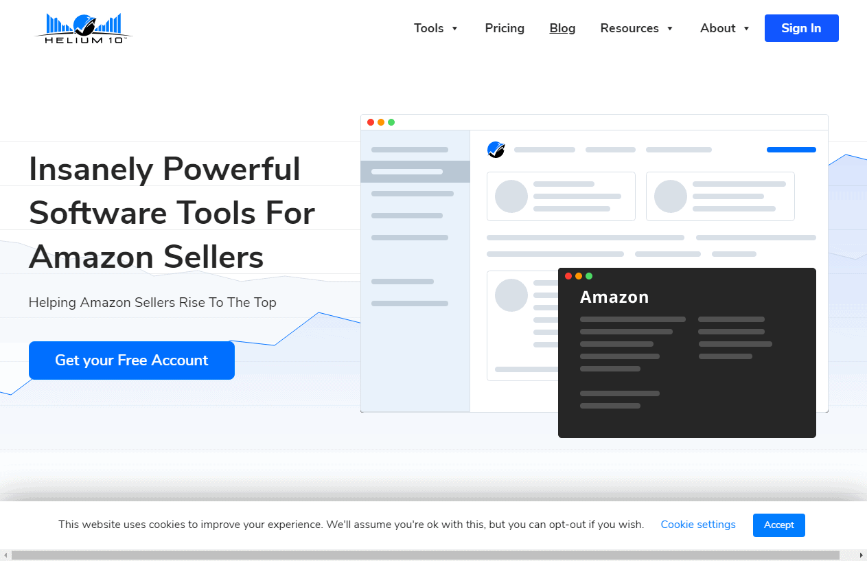 Insanely Powerful Tools For Amazon Sellers - Helium 10 Coupon
