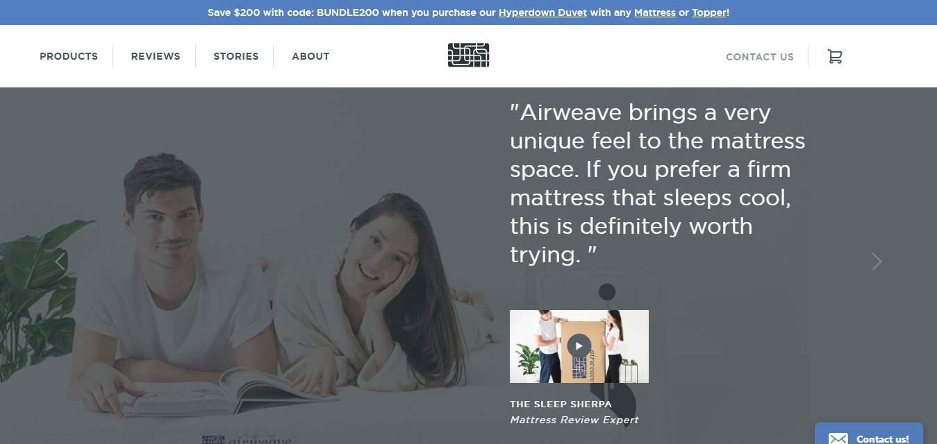 Airweave bring a very unique - try it now