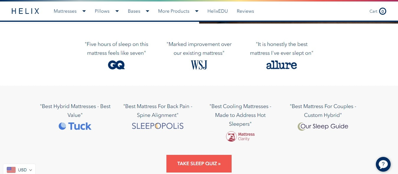 Helix Sleep Promo Codes, Coupons & Deals - Try It