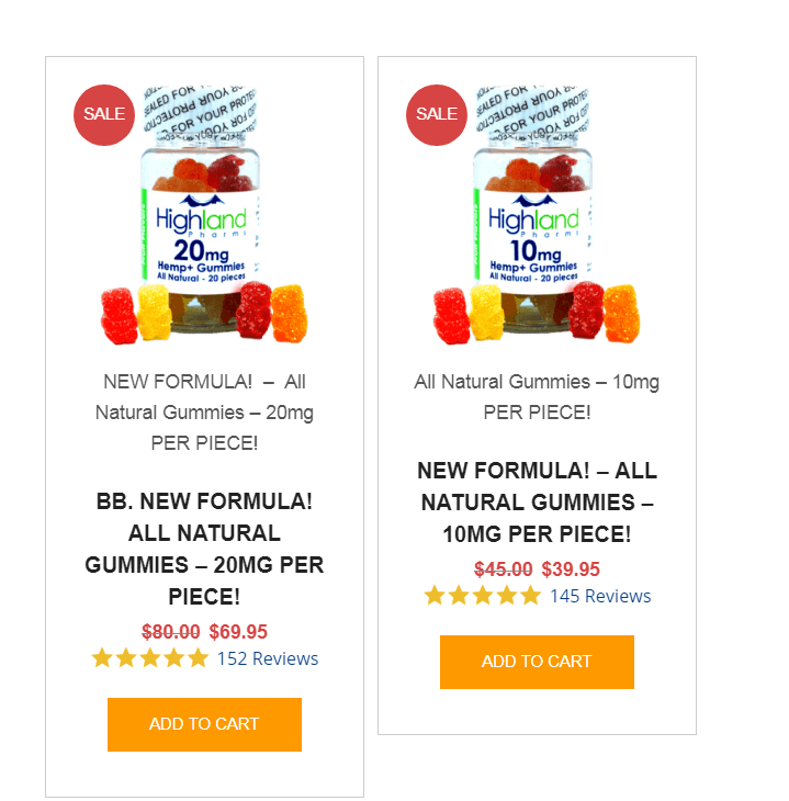 Highland Pharms Coupon Codes-Highland Gummies