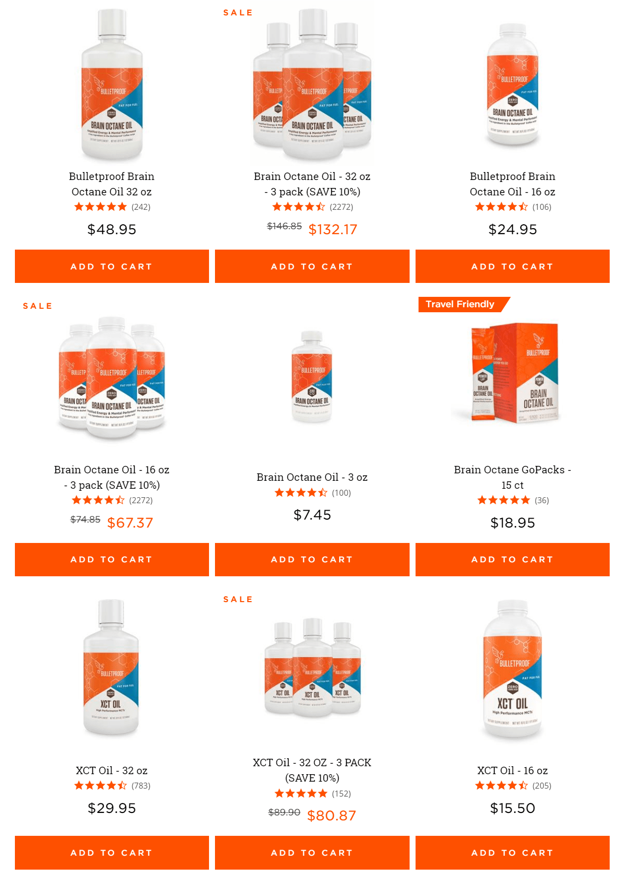 Bulletproof Coupon Codes-Brain Octane Oil Pricing