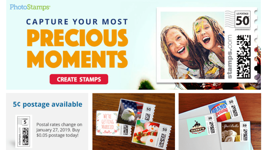 Stamps.com Review With Coupon Codes -Photostamp