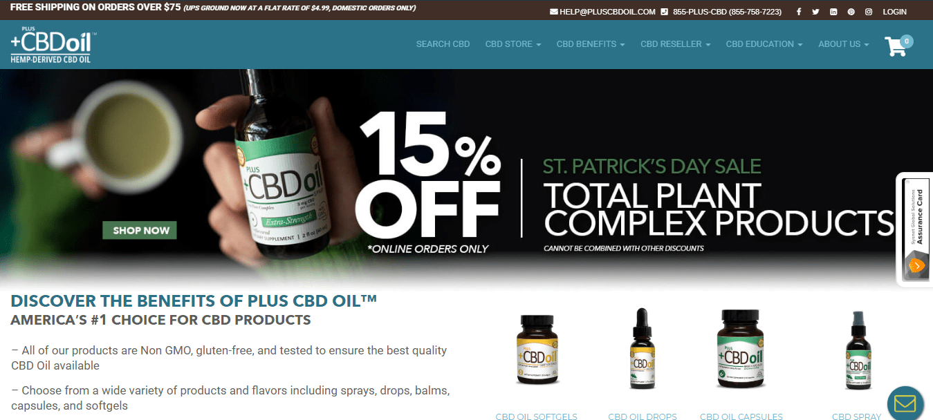 Plus CBD Oil Review with Discount Coupons 2019:Up to 15% Off