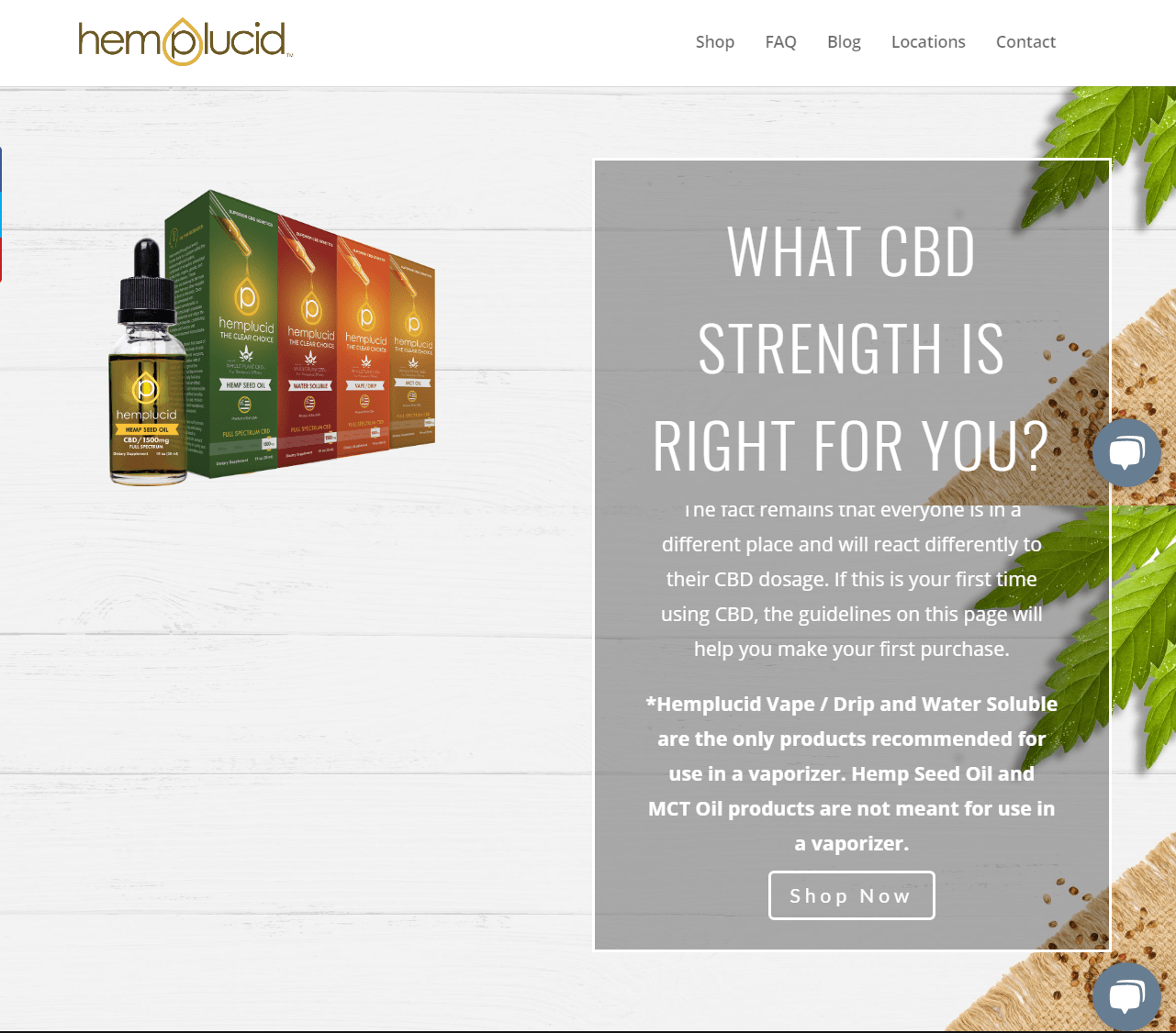 Hemplucid Discount Coupon Code-Product