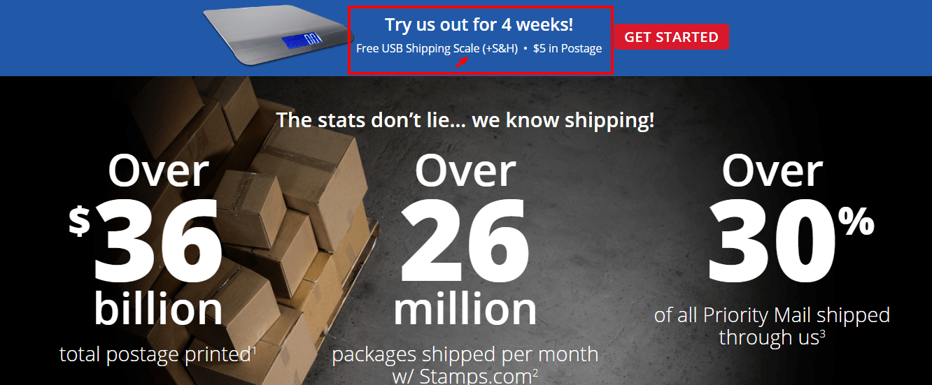 Stamps.com Review With Coupon Codes -4 Week Trail