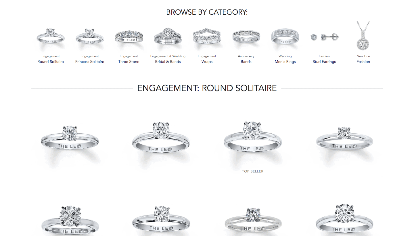 Leo - Diamonds - Review - browse - by - category