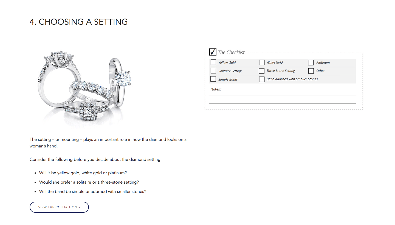 Leo - Diamonds - Review - choosing - a - setting