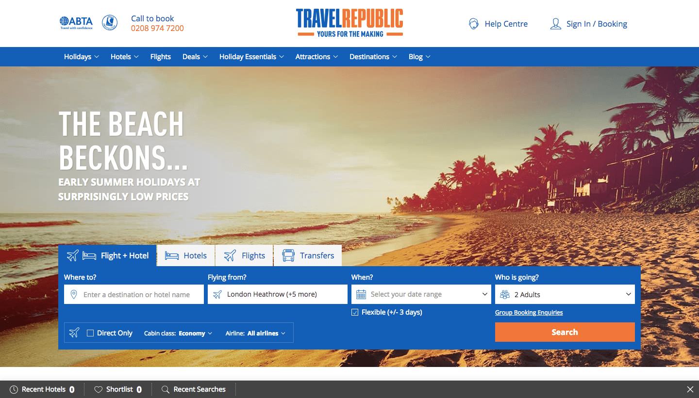 Travel Republic Promo Code: UP TO 40% OFF