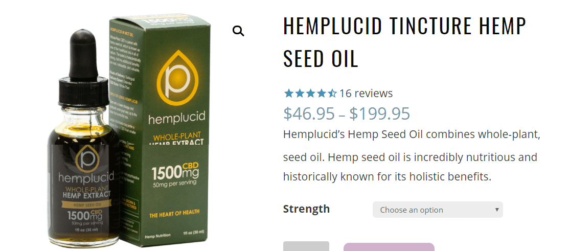 Hemplucid Discount Coupon Code-Tincture