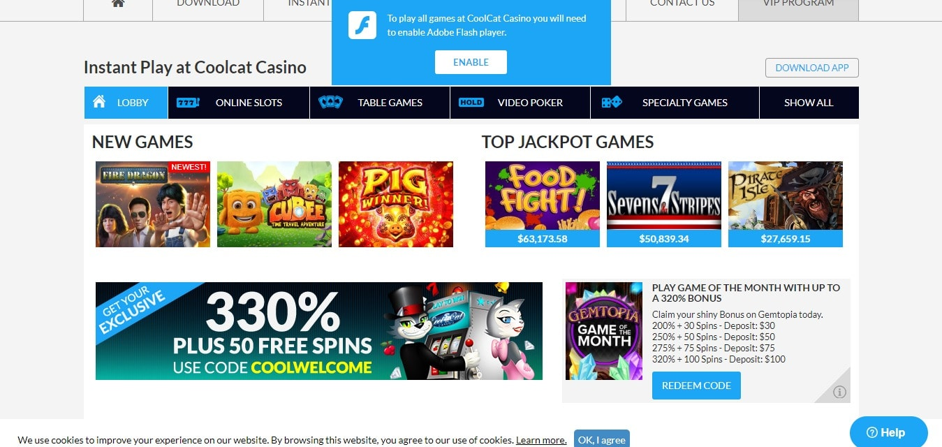 Cool cat casino $200 no deposit bonus codes