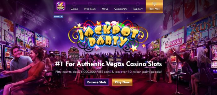 jackpot casino party promotions