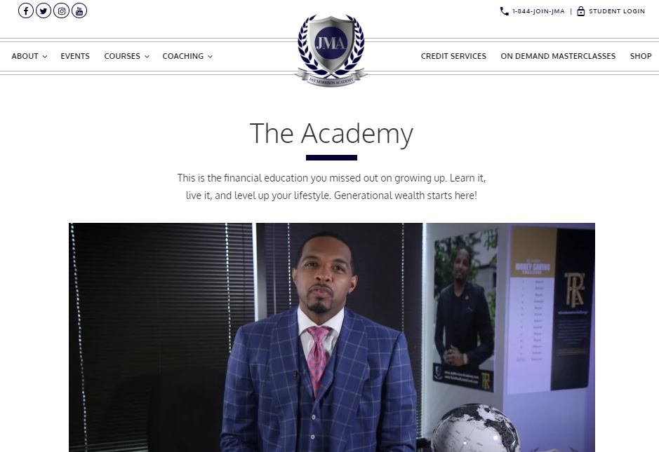 Jay Morrison academy review - The Academy