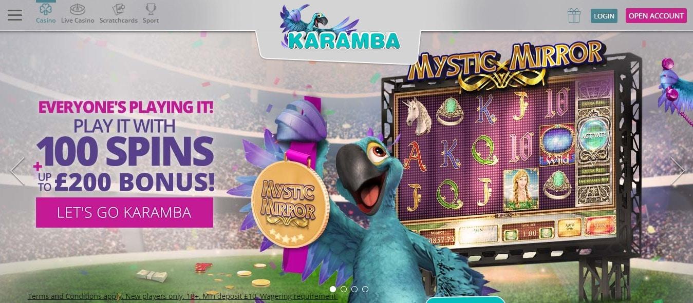 Karamba no deposit bonus codes