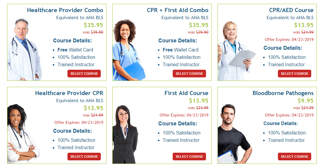 CPR AED Certification Discounts