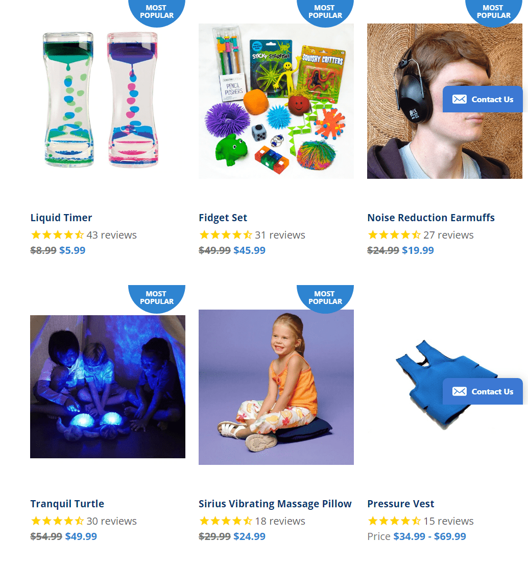 National Autism Resources Coupon Codes - Calming Gift