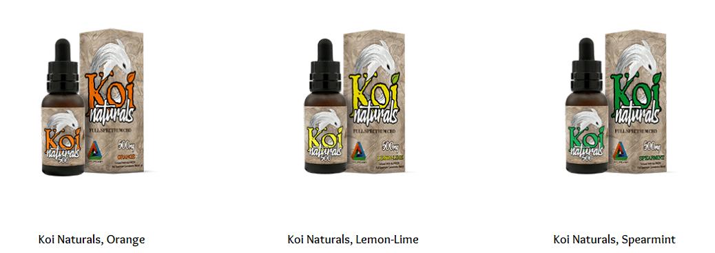 KOi CBD oil offers