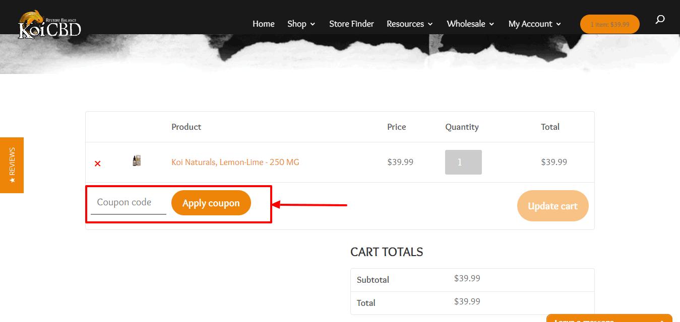 Koi CBD offers