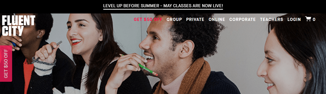Check Out Fluent City Live Classes Now