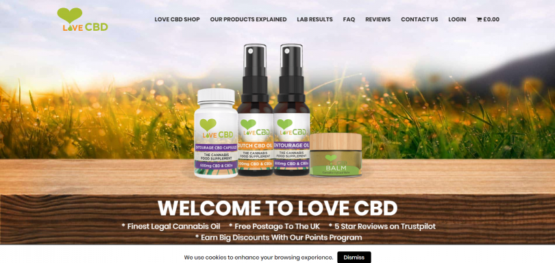 Love CBD coupo codes