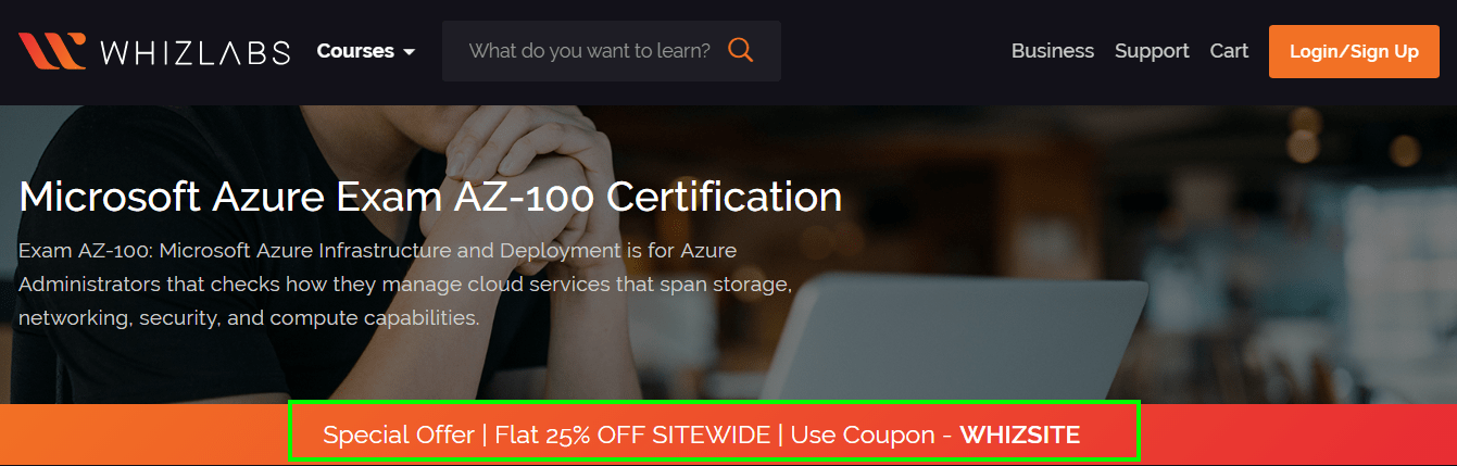 Whizlabs Discount Code -Microsoft Certification
