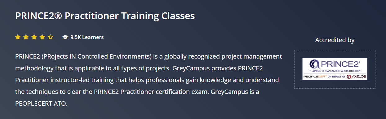 Grey Campus Coupon Codes- Practitioner Training classes