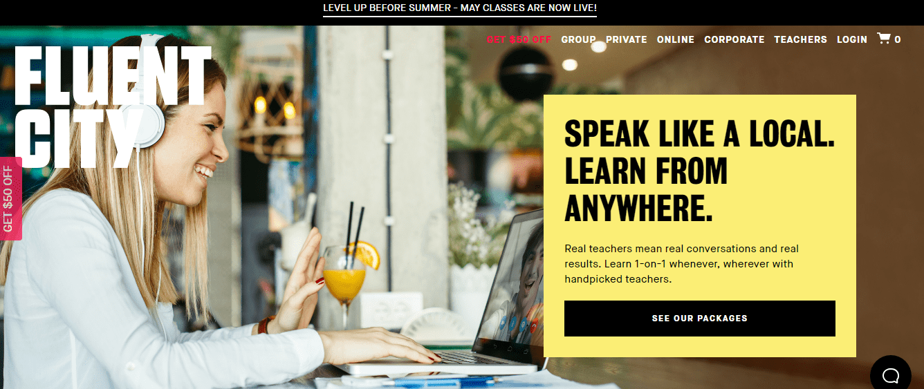 Speak Like A Local Learn Anywhere - Fluent City