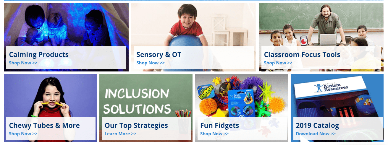 National Autism Resources Coupon Codes - Classroom tools