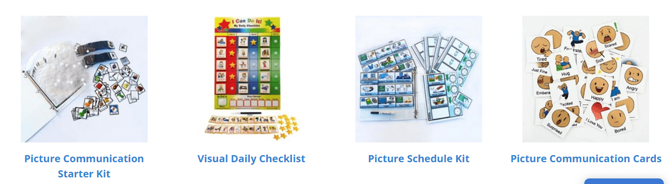National Autism Resources Coupon Codes - picture Exchange system