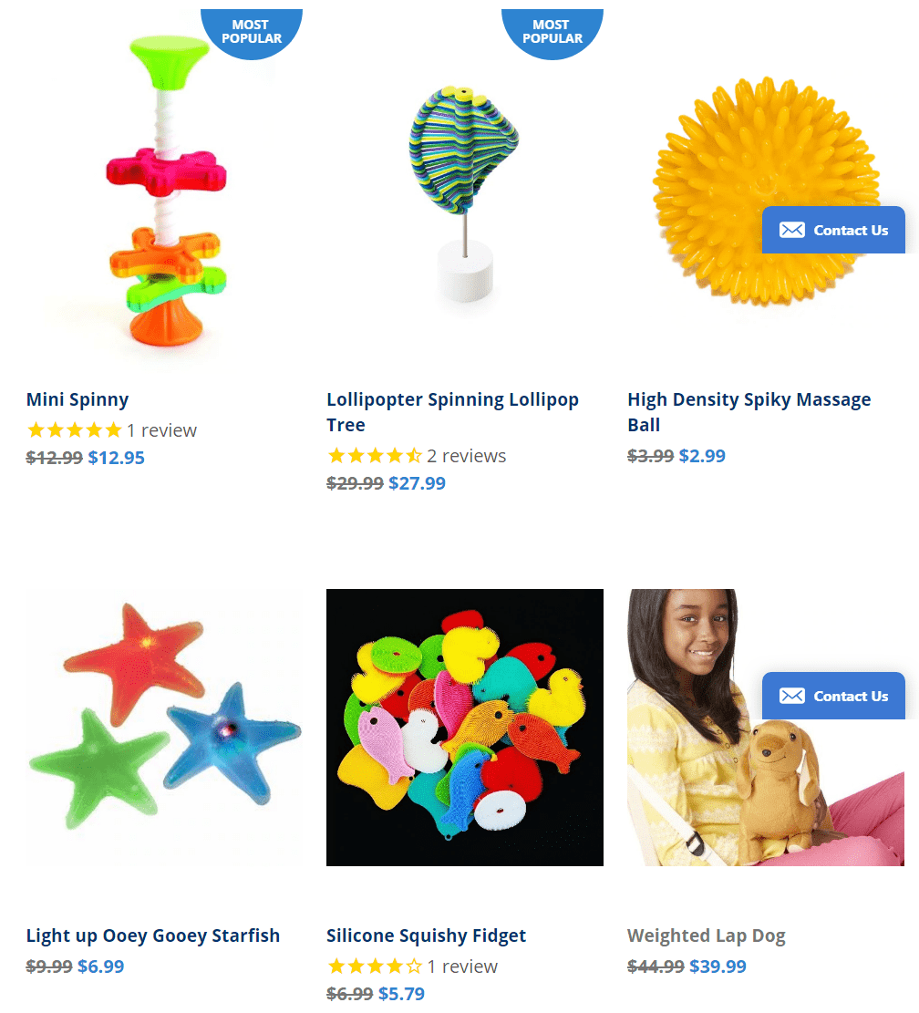 National Autism Resources Coupon Codes - Sensory gift