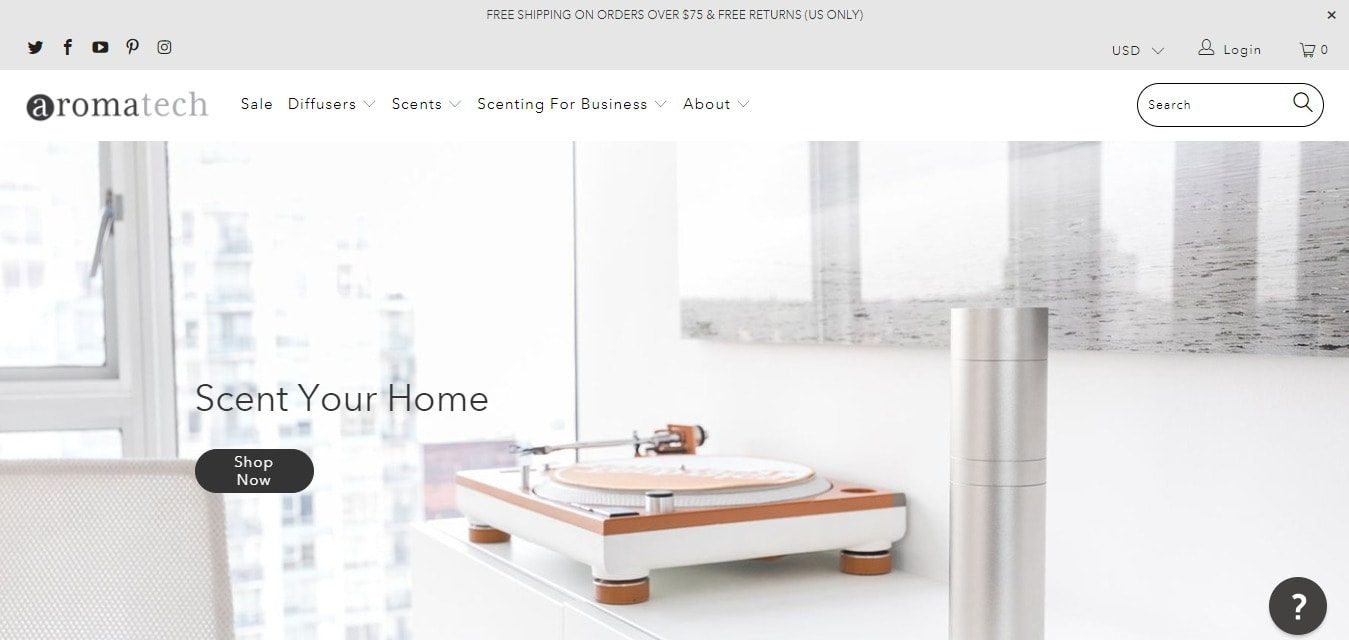 About Aroma Tech Systems - Select Your Home