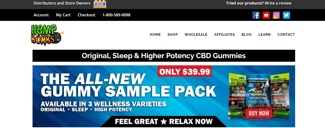 coupons for Hemp Bomb CBD gummies