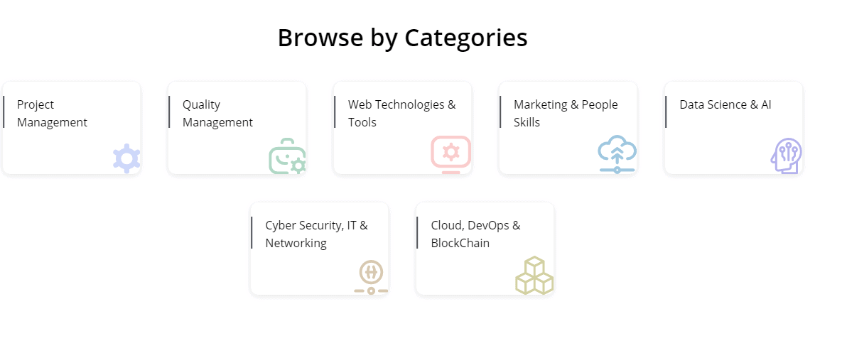 Category of courses