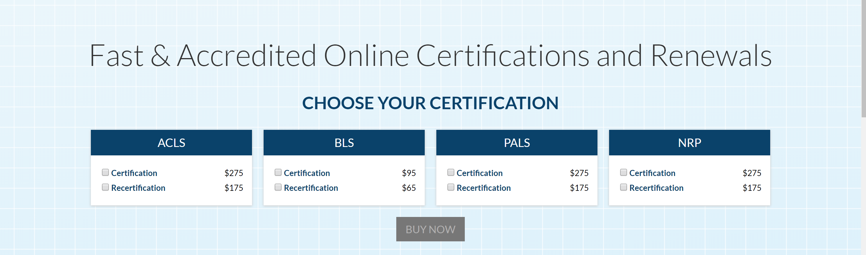 How Much Does acls Cost -Certification Plans