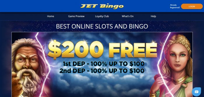 Jet Bingo Casino Promotions
